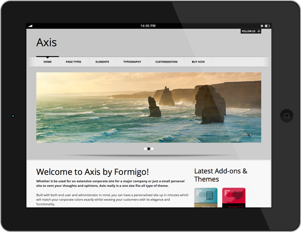 Axis - Tablet