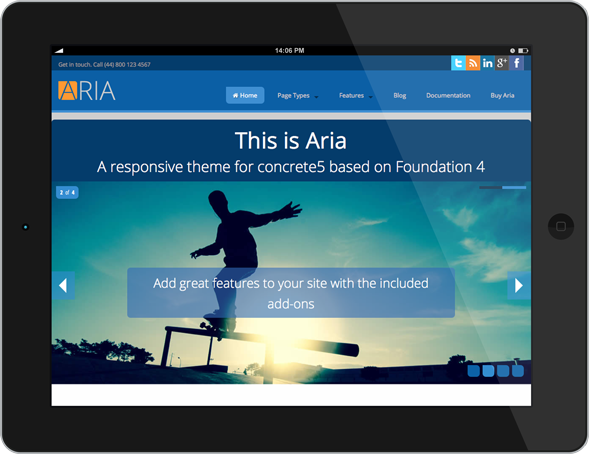 Aria - Tablet